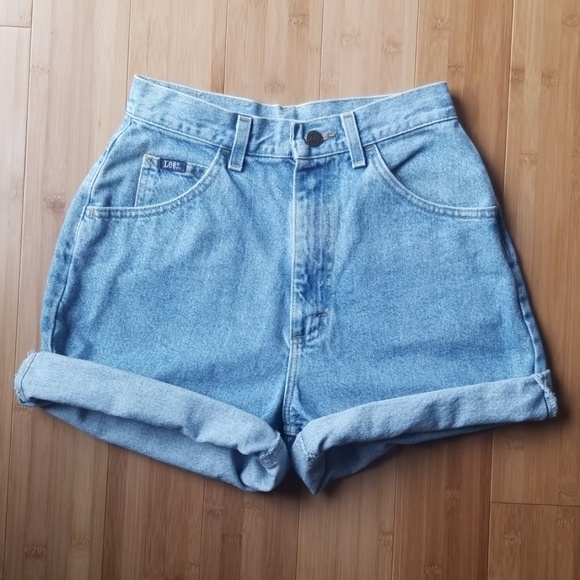 Lee Pants - Lee Vintage High-waisted Denim Shorts